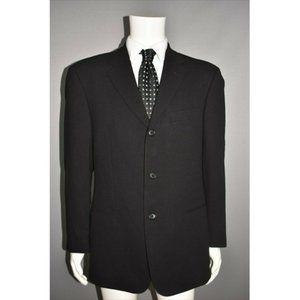 HUGO BOSS Black Wool Einstein Blazer